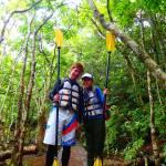 サンガラの滝カヌー&トレッキングツアー
