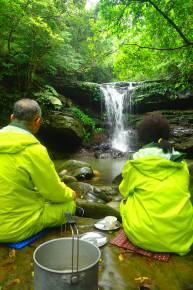 貸切ケイビング&クーラの滝ツアー