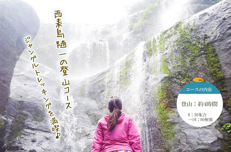 ユツンの滝・ジャングルトレッキングツアー